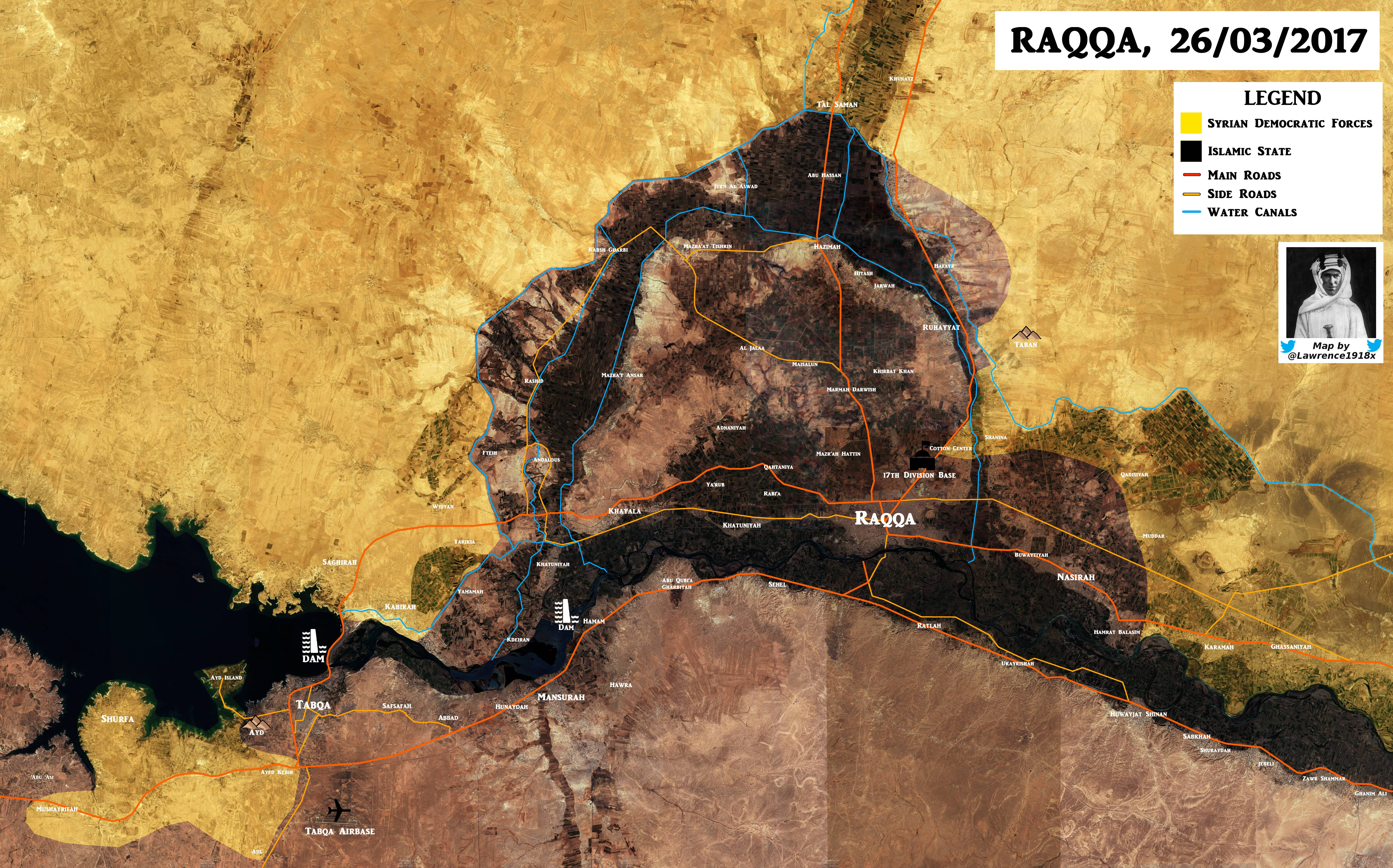 Which Part Of Tabqa Dam Do US-backed Forces Really Control?