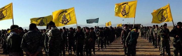 Liwa Fatemiyoun fighters are in Syria