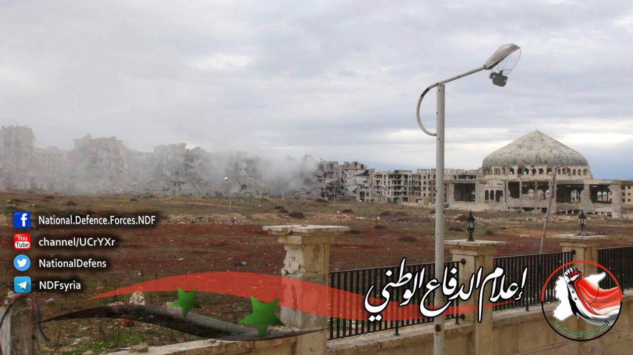 Syrian Arab Army Launched Limited Operation In Al Zahra'a Neighborhood West Of Aleppo