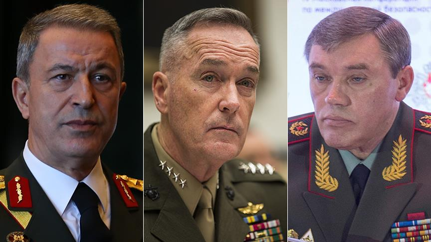 US, Russia, Turkish Military Chiefs Meet To Discuss Syria And Iraq