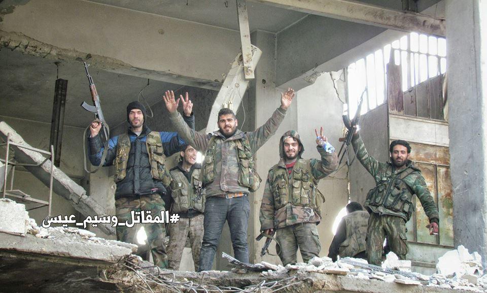 Battle For Jobar - Big Photo Report