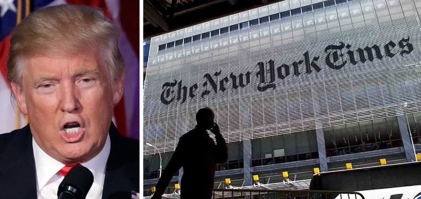 NYT Blames Trump For Reading Its Reports