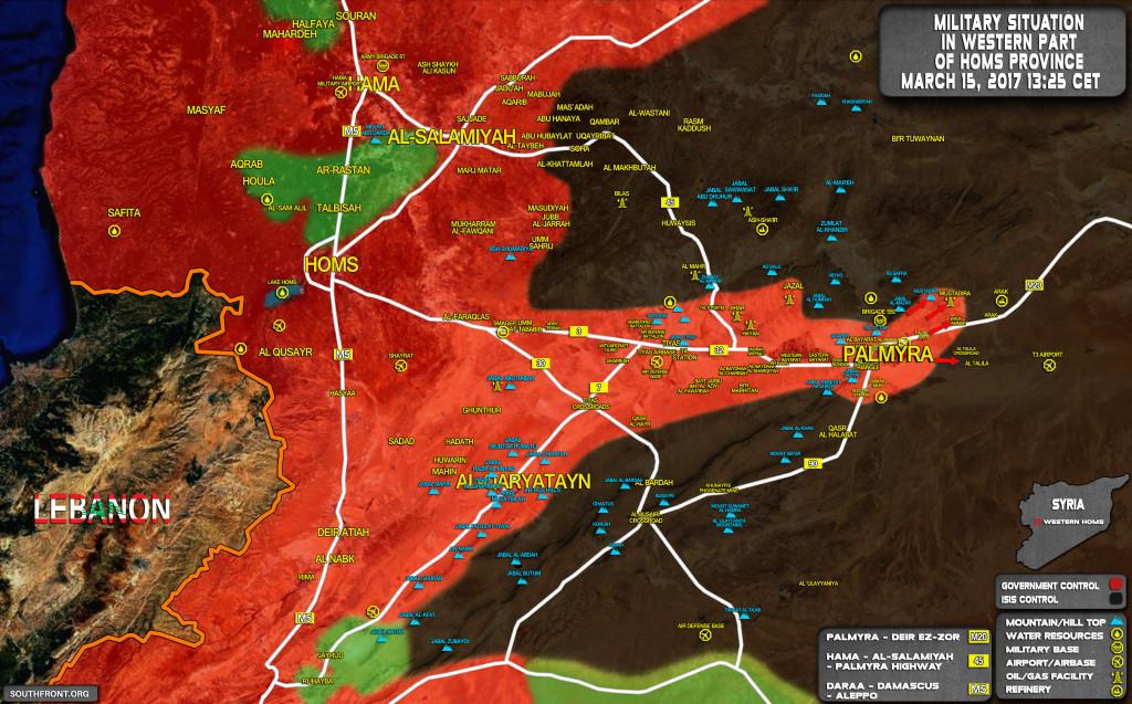 Syrian Troops Retake Control Of Mustadira Gas Field, Develop Advance On Arak Gas Field (Map Update)