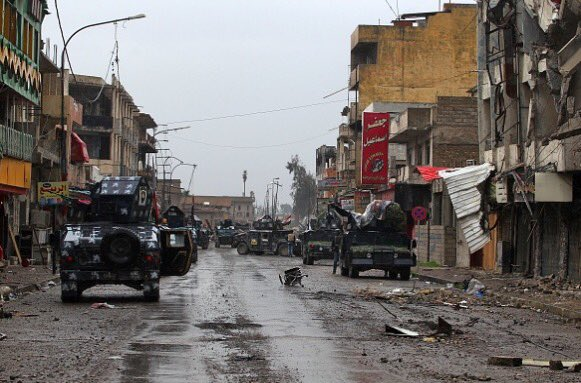 Clashes Between Iraqi Forces And ISIS In Western Mosul - Big Photo Report