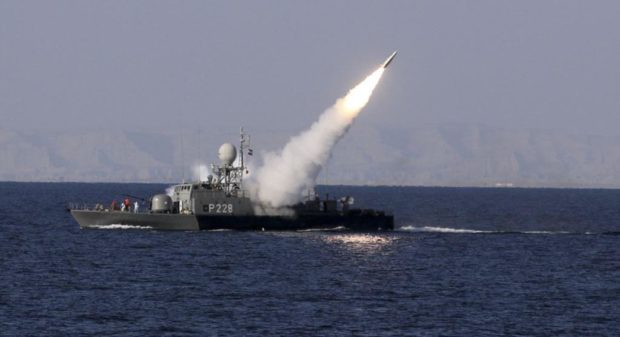 Iran Conducts New Ballistic Missile Tests from Naval Vessel