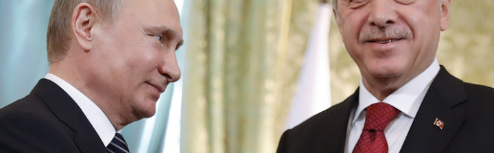 Russian and Turkish presidents, Vladimir Putin and Recep Tayyip Erdogan © Mikhail Metzel/TASS