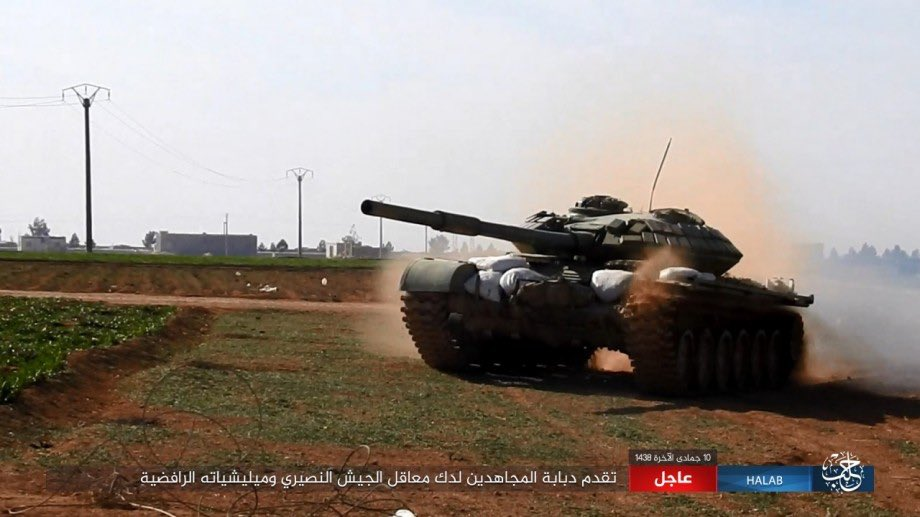 Intense Fighting Ongoing In Jirah Airbase In Aleppo Province, Multiple Airstrikes Reported