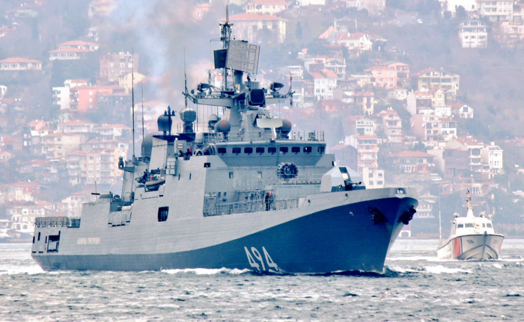 Russia Launched Modernization Of Its Naval Facility In Syria's Tartus
