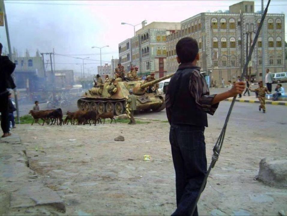 World War 2 Era Military Equipment In Syrian And Yemeni Wars - Photos