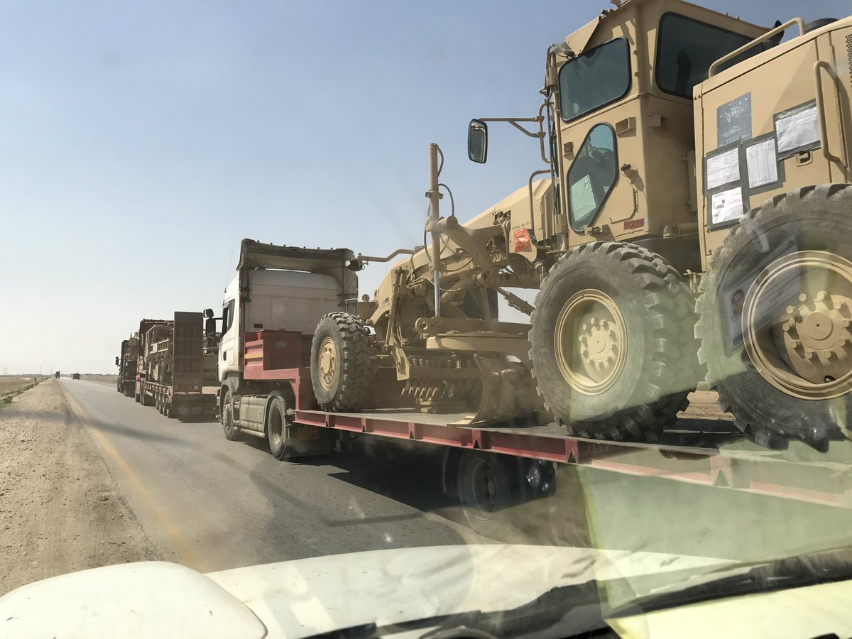 SDF Receives More US-Supplied Armoured Vehicles - Photos