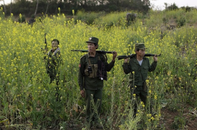30 Dead In Intense Fighting In Myanmar-China Border Town