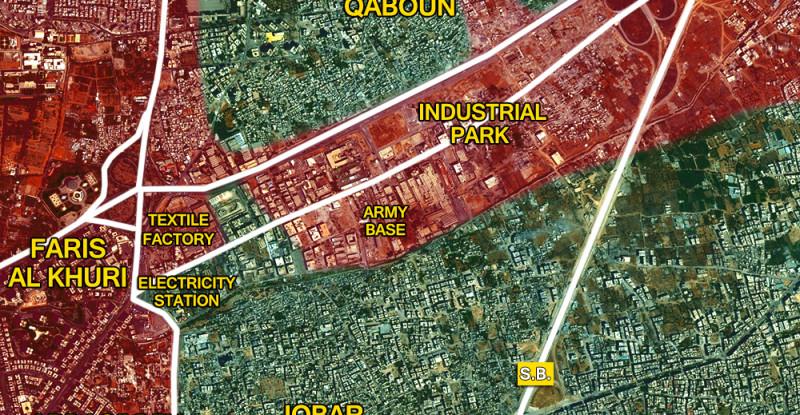 22m_Eastern Damascus_Syria_War_Map