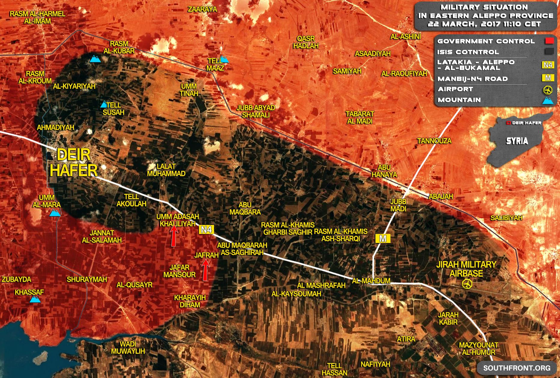 Tiger Forces Capture Umm Adasah Khaliliyah, Set Control Of Deir Hafer-Mahdum Road