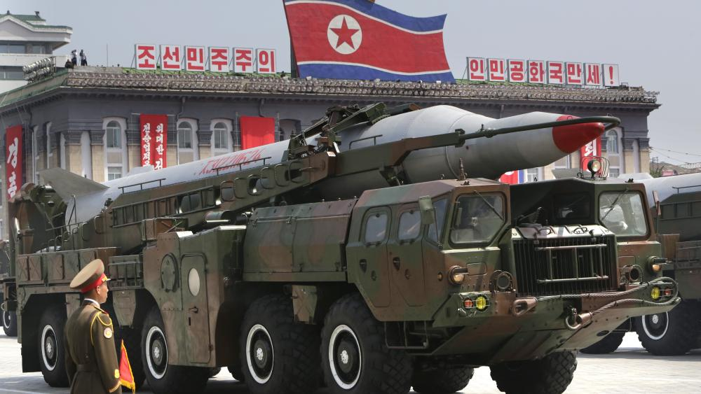 """North Korea Threatens US With """"Merciless Strikes"""" As US Carrier Arrives"""
