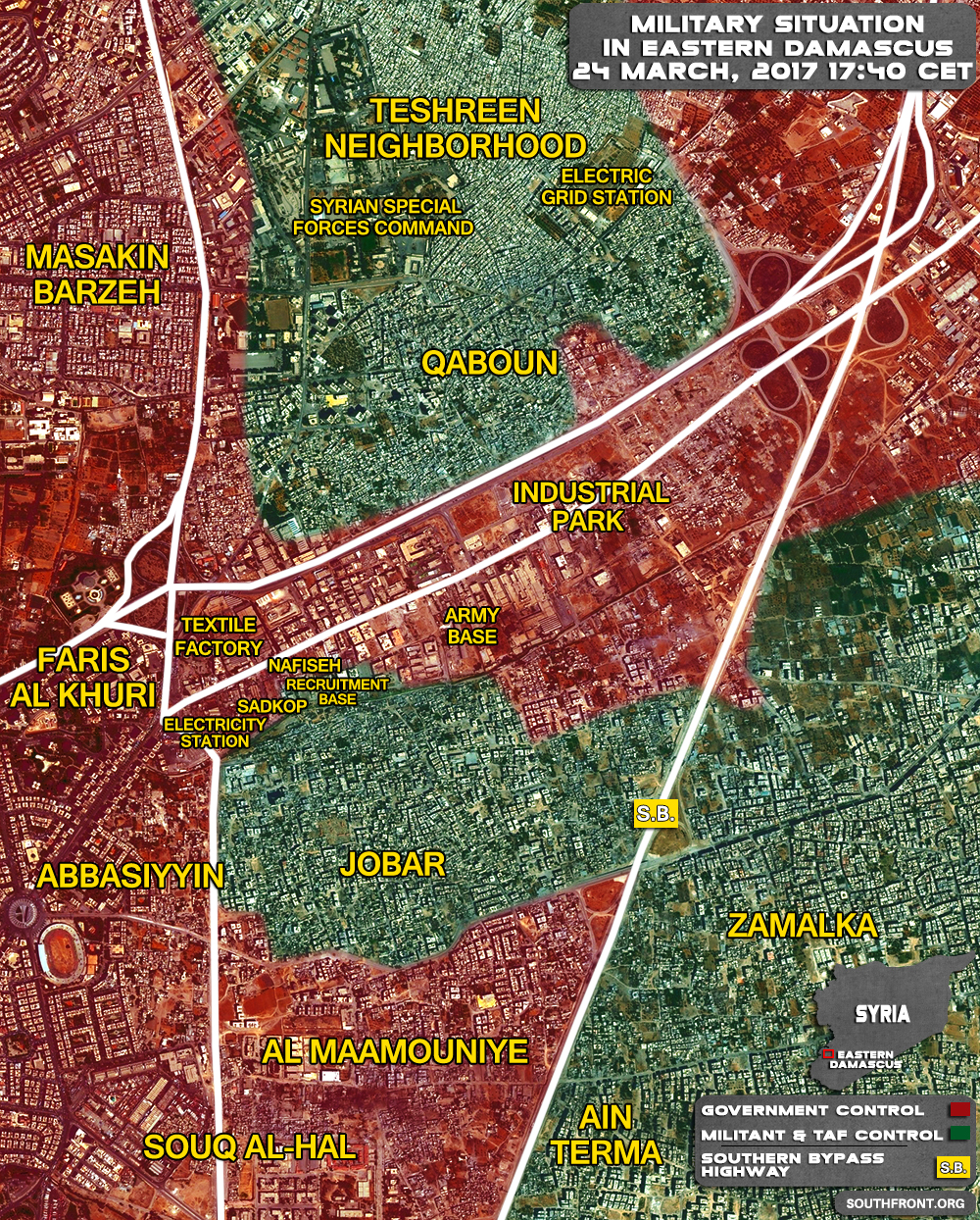 Syrian Army Reversed All Militant Gains In Eastern Damascus (Map, Videos)