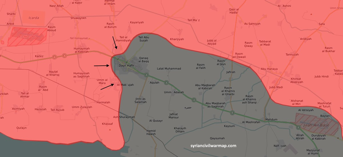 Govt Forces Captures Strategic Hill, Gets Fire Control Of ISIS-Held City Of Deir Hafer