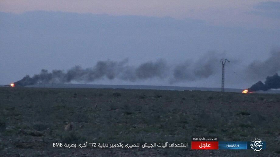 Heavy Clashes At Salamiyah-Itriyah Road. ISIS Attempts To Cut Off Only Government Supply Line To Aleppo City