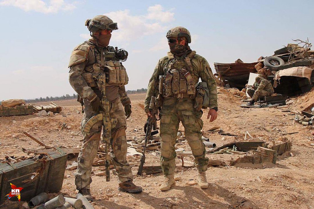 More Photos Of Russian Special Operations Forces In Palmyra