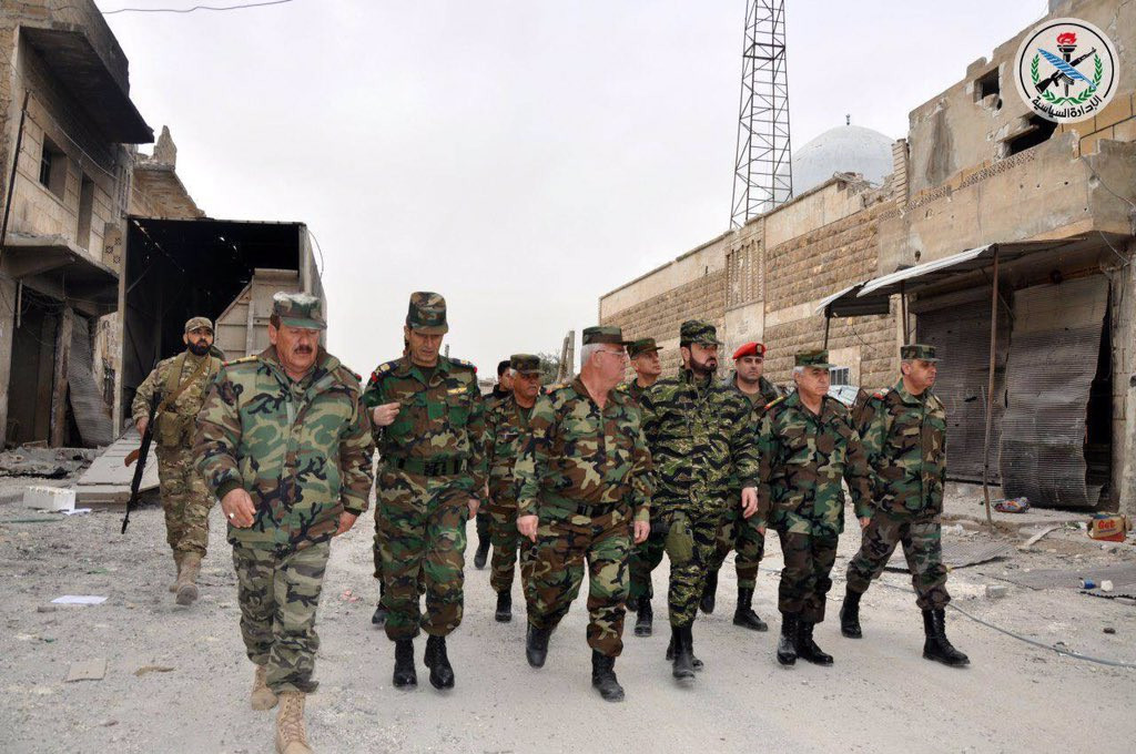 Syrian Troops Led By Brigadier General Suheil al-Hassan In Eastern Aleppo - Photos