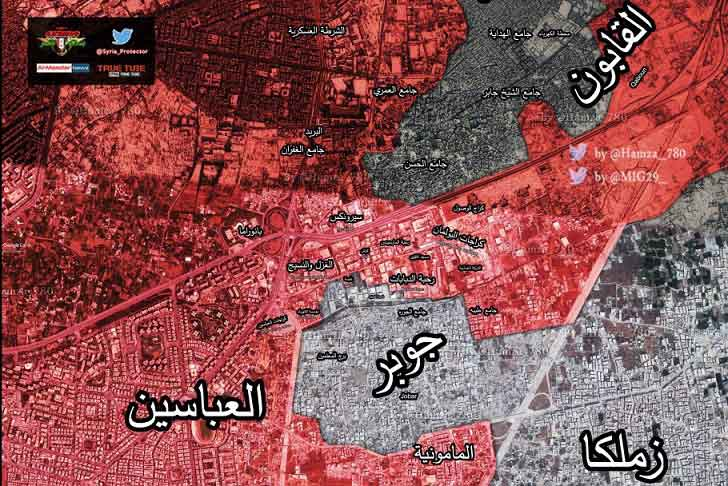 Hay'at Tahrir al-Sham Recaptures Part of Yarmouk Camp in South of Damascus from ISIS