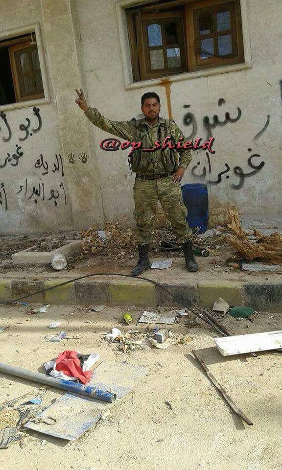 Euphrates Shield Forces Fighters Inside Tadef (Photos)