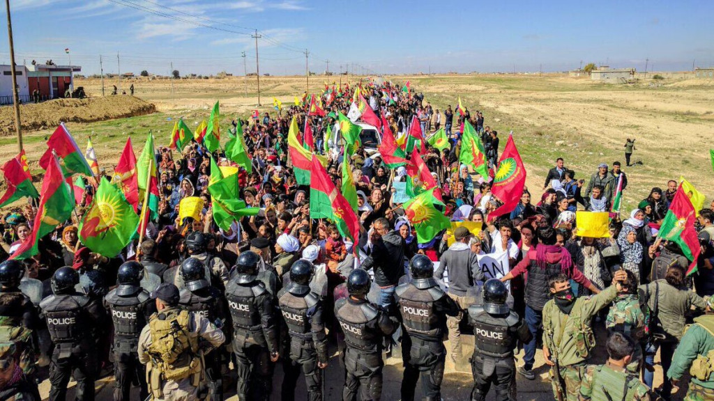 Woman Killed and 12 Other People Injured As Units Loyal To Iraqi Kurdistan President Barzani Open Fire At Protesters