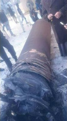 Remnants Of Israeli Arrow-3 Missiles Used To shoot down Syrian Anti-Air Missiles Land In Jordan (Photos, Video)