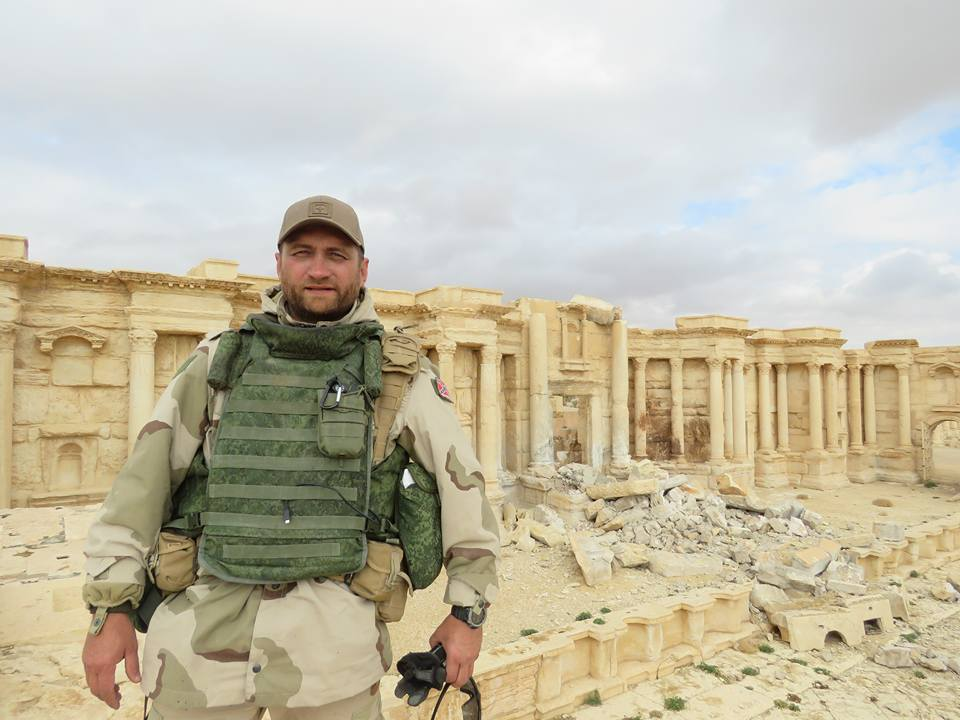 Maps Of Military Situation In Palmyra and Photos From Ancient City