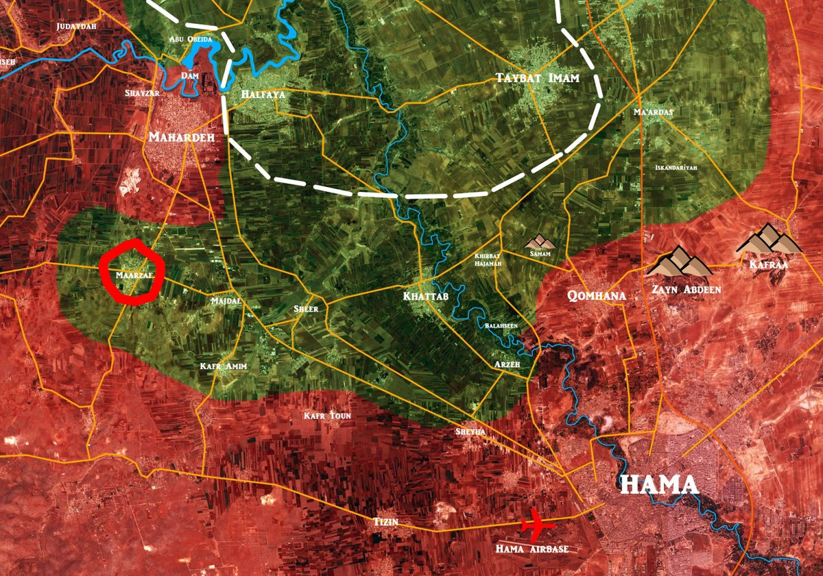 Government Forces Recapture Maarzaf From Hayat Tahrir al-Sham-led Forces - Reports