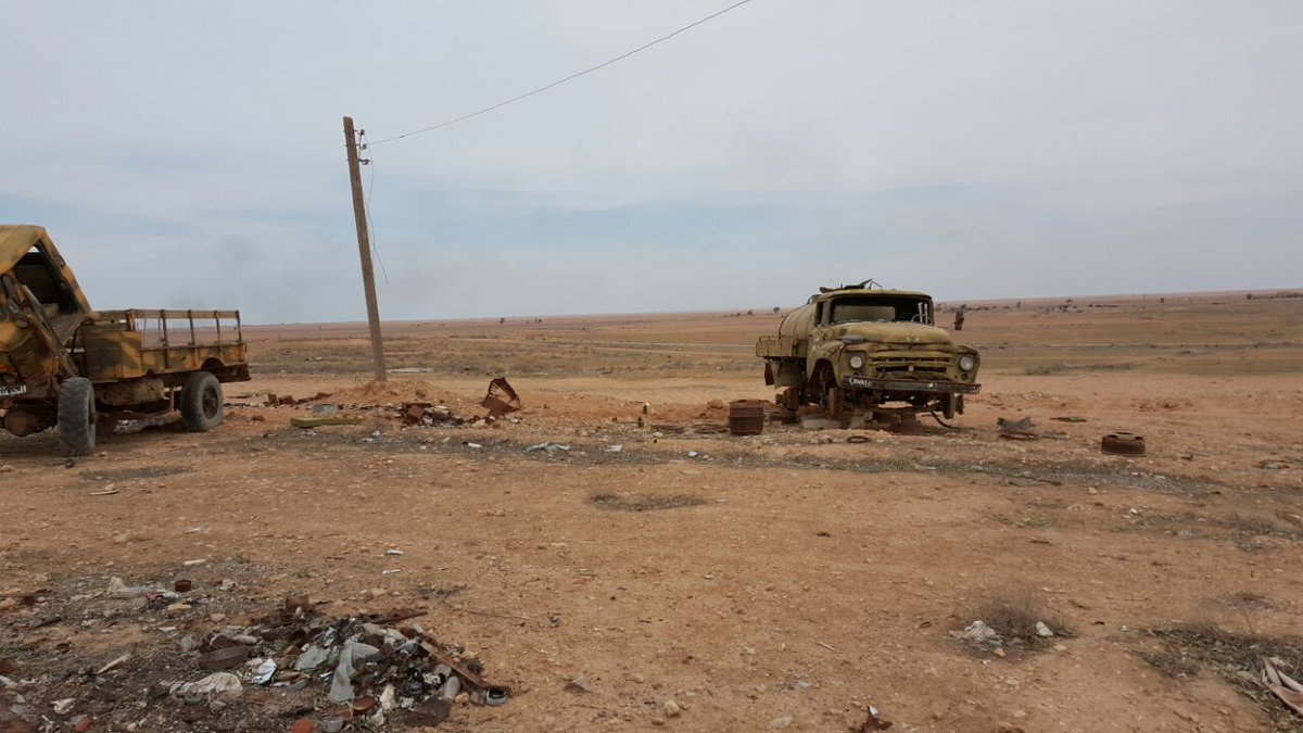 Photos From Tabqa Airbase Recently Captured By SDF