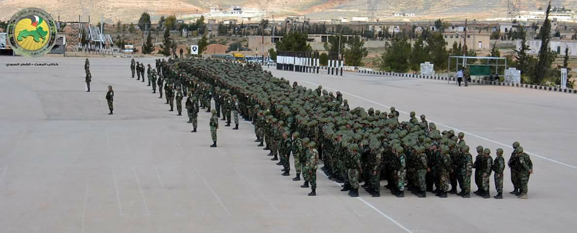 1,000 Servicemen of 5th Legion Completed Training in Syria (Photos)