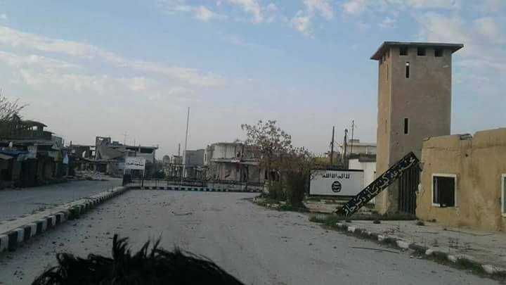Government Troops Entered Deir Hafer Report