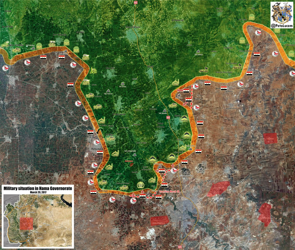 Heavy Clashes Between Syrian Army And HTS-led Forces Ongoing In Northern Hama (Video, Map)