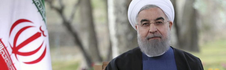 (Iranian Presidency Office via AP)