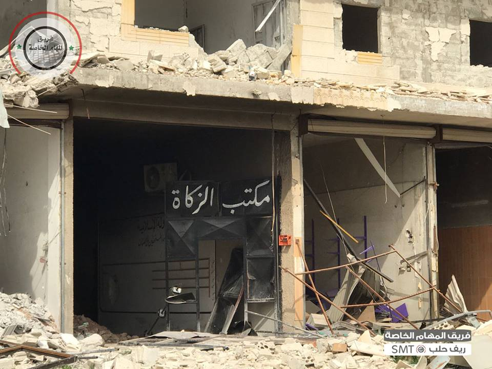 Photos And Video From Recently Liberated Deir Hafer In Aleppo Province