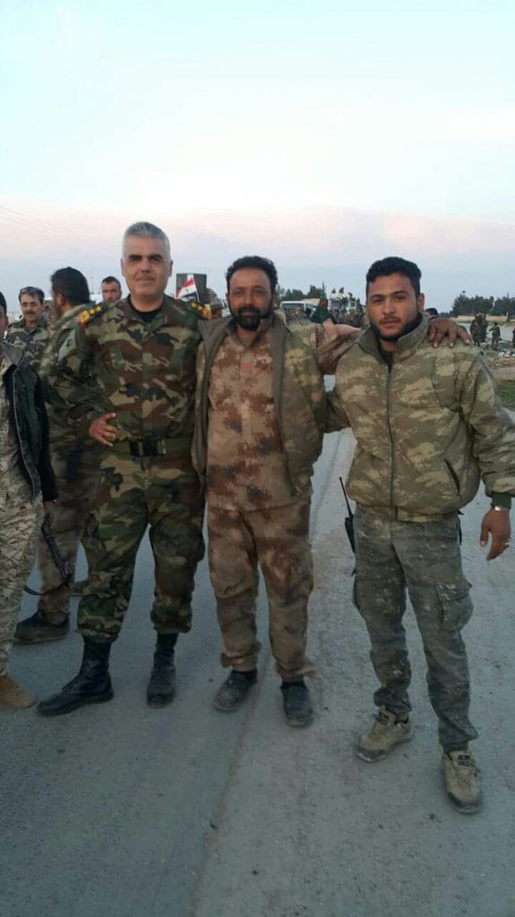 Many Syrian, Russian Troops Enter YPG-Held Areas West Of Manbij (Photo, Video)