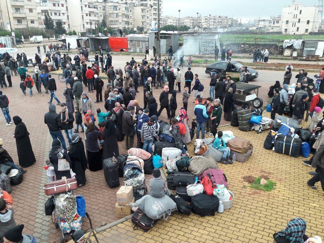 Hundreds of Terrorists Leave Homs' al-Waer Area (Photos)