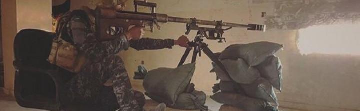 ISF sniper in western Mosul