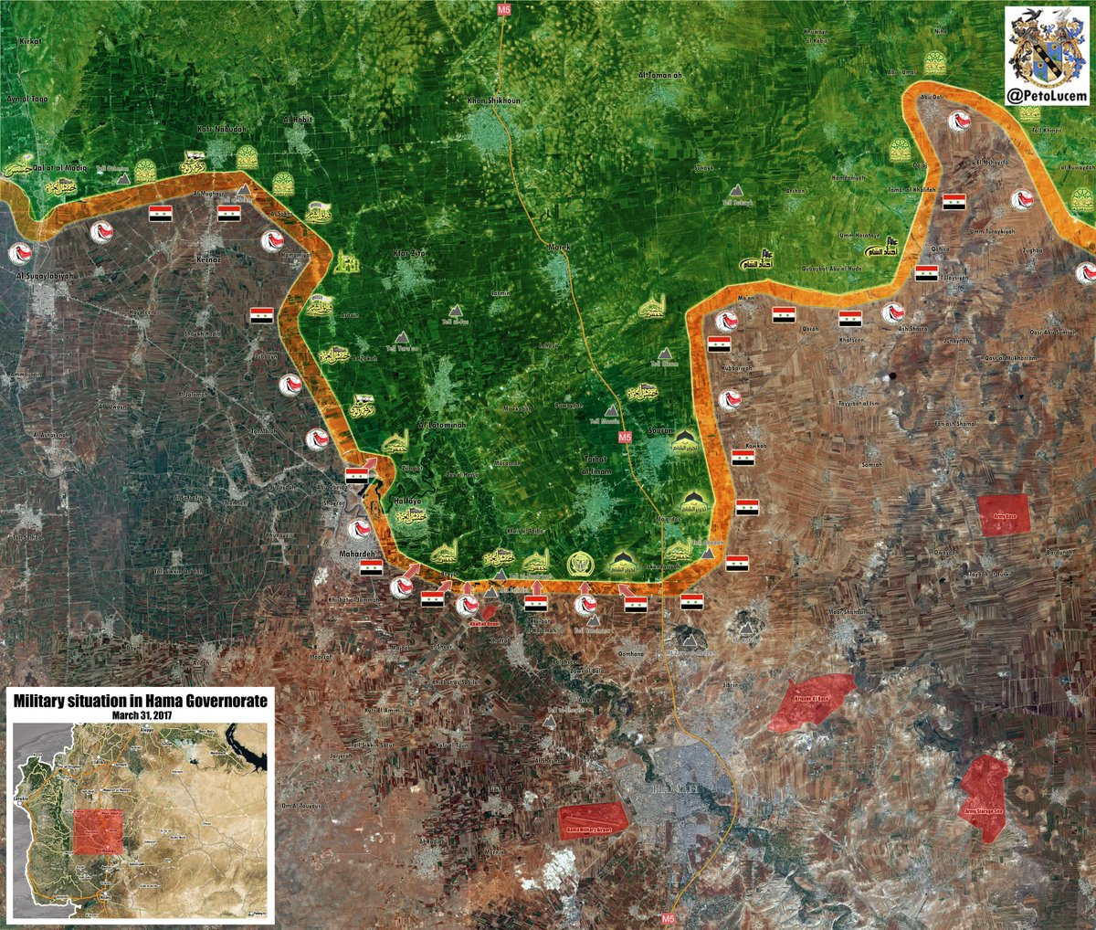 Syrian Army Continues Its Successful Counterattack In Northern Hama (Map, Videos)