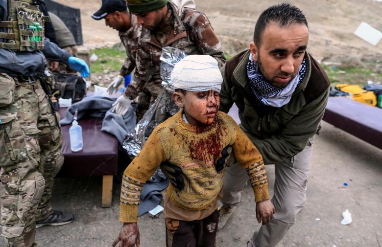 Humanitarian Crisis In Iraq's Mosul
