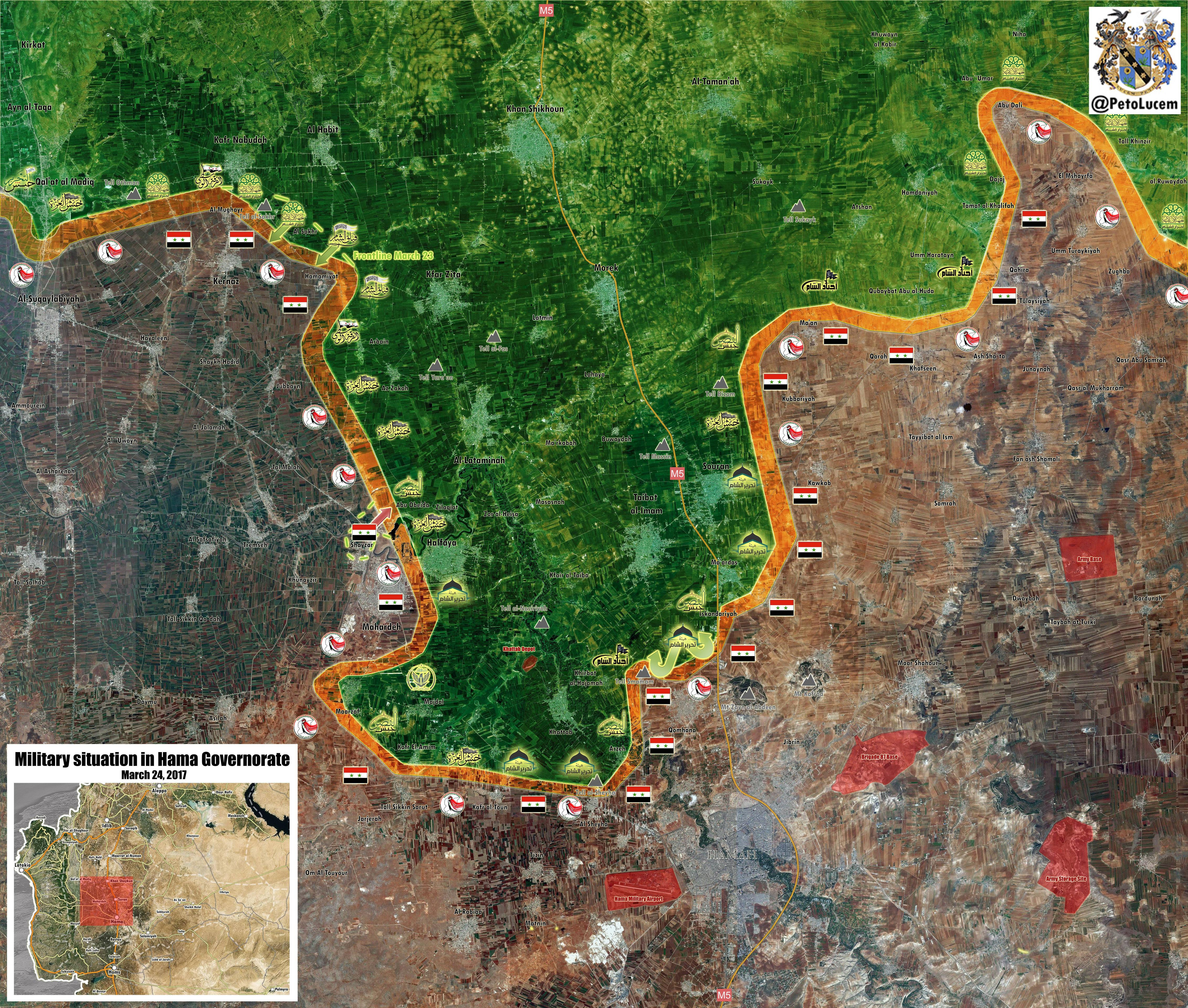 Syrian Army Repelled Large-Scale Militant Advance In Northern Hama