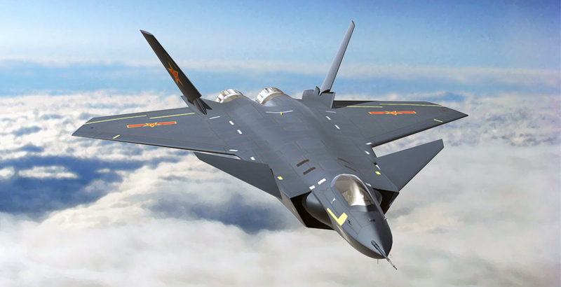 Chinese J-20 Stealth Jet Passes into Service in Country's Army