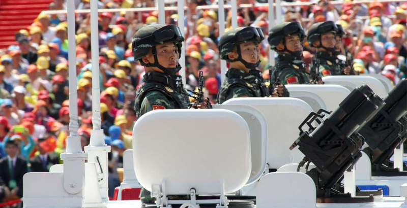China May Reduce 5 of 18 Army Groups of Its Land Forces