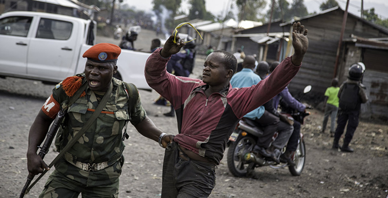 Group of Armed Men Beheads 40 Policemen in Congo