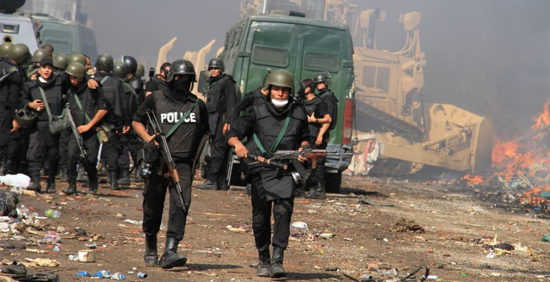 10 Servicemen of Egyptian Security Forces Killed in Sinai Anti-Terror Operation