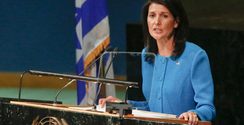 US Calls Itself 'World's Moral Conscience'