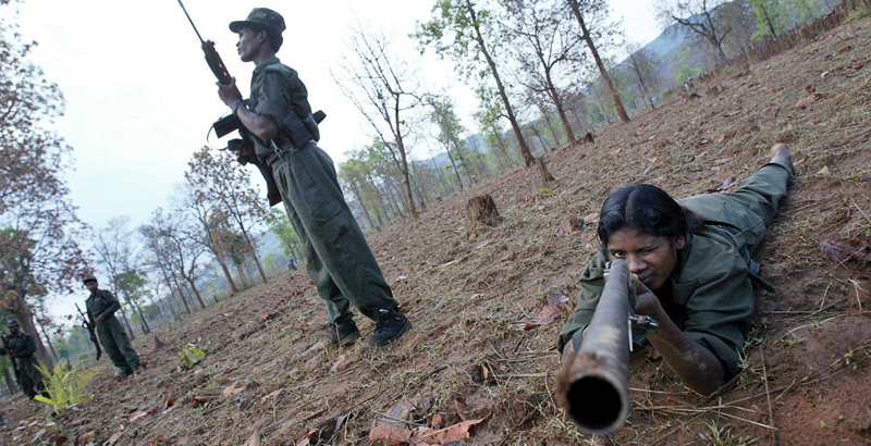 Maoist Insurgents Kill 11 Indian Armed Policemen in Chhattisgarh State