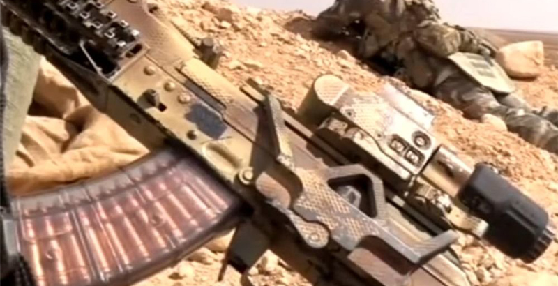 New Kalashnikov Assault Rifle Spotted in Syria (Video) - UPDATED