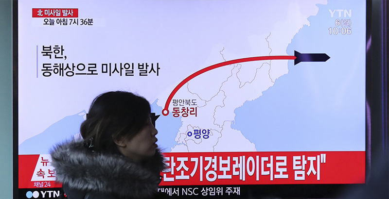 North Korea Explains Missile Launches by Practice in Strikes against US Bases in Japan