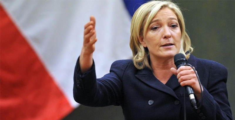 EU Parliament Deprives Marine Le Pen of Parliamentary Immunity for Tweeting Pictures of ISIS Violence